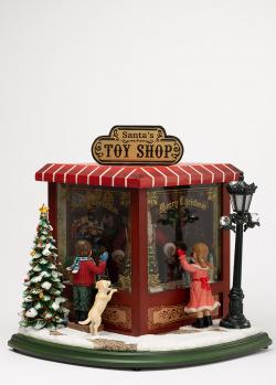 Новогодний декор Timstor Магазин игрушек большой, фото