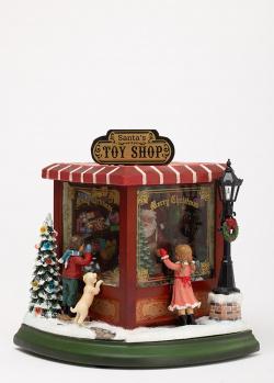 Новогодний декор Timstor Магазин игрушек маленький, фото