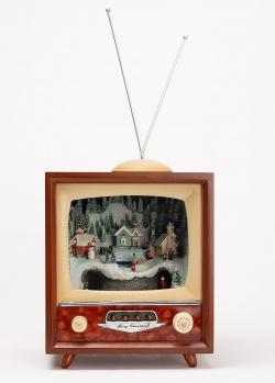 Новогодний декор Timstor Телевизор с подсветкой, фото