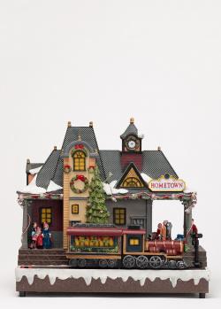 Новогодний декор Timstor Вокзал родного города, фото