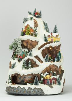 Новогодний декор Timstor Городок у горы, фото