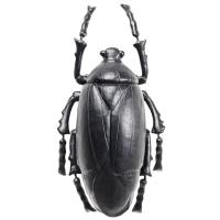 Фигурка Kare Plant Beetle Matt Black 26х14,5х8см, фото