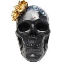 Статуэтка Kare Flower Skull 22,3х24х17,1см, фото