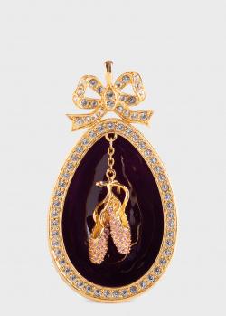 Новогоднее украшение Faberge с пуантами, фото