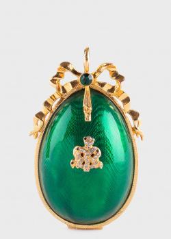 Украшение-яйцо Faberge зеленого цвета, фото