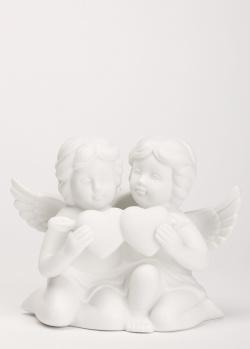Фарфоровая статуэтка Rosenthal Angel Пара ангелов с сердцем, фото