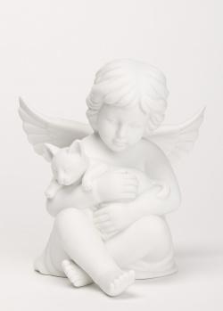 Статуэтка из фарфора Rosenthal Angel Ангел с кошкой, фото