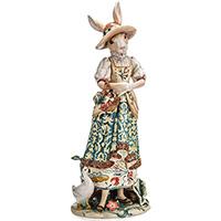 Коллекционная статуэтка Fitz and Floyd Миссис Кролик, фото