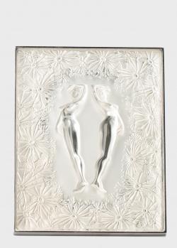 Настольное панно Lalique Bucolique с хрустальным изображением, фото