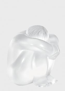 Фигурка Lalique Nude Meditating Clear из матового хрусталя, фото