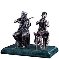 Серебряная фигура Оникс Музыканты, фото