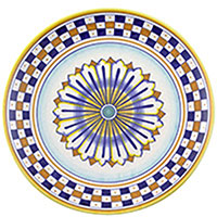 Тарелка настенная L'Antica Deruta с орнаментом, фото