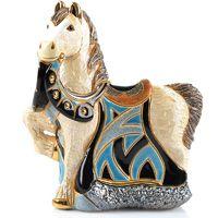 Фигурка De Rosa Rinconada Small Wildlife Конь королевский в синем, фото