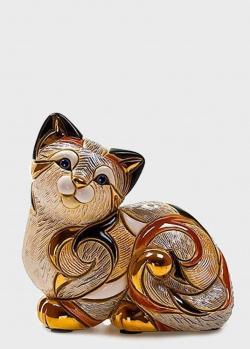 Фигурка De Rosa Rinconada Кошка Пятнистая Отдыхающая, фото