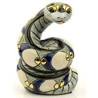 Фигурка De Rosa Rinconada Змея Белая, фото