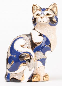 Фигурка De Rosa Rinconada Кот пятнистый синий Limited Edition 1000, фото
