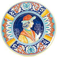 Тарелка настенная L'Antica Deruta Museo Plate, фото