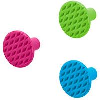 Набор настенных крючков PO Selected 3шт разноцветные, фото