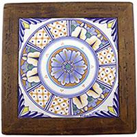 Панно L'Antica Deruta Clock&Items, фото