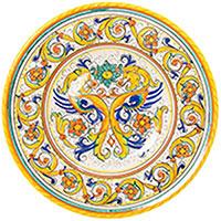Тарелка настенная L'Antica Deruta Raffaellesco, фото