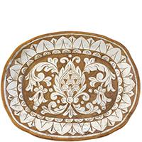 Тарелка настенная L'Antica Deruta Scalfito, фото