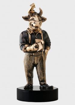 Бронзовая статуэтка Vizuri Инвестиционный банкир в виде быка, фото