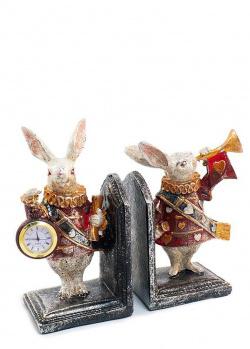 Подставка-часы Mastercraft Кролики-часовые, фото