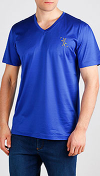 Футболка Billionaire ярко-синего цвета, фото