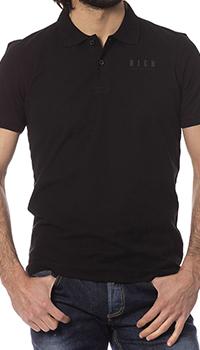 Мужское поло John Richmond черного цвета, фото