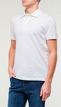 Мужская футболка Billionaire белого цвета, фото
