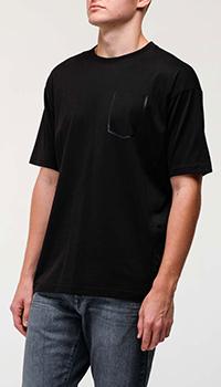 Мужская футболка Bogner с имитацией кармана, фото