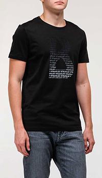 Футболка Bogner черного цвета, фото
