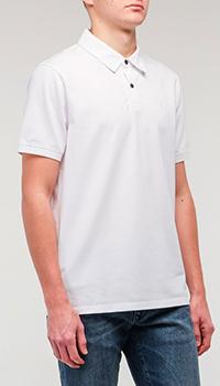 Мужская футболка-поло Bogner белого цвета, фото