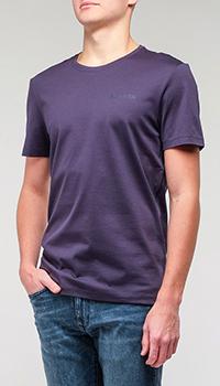 Мужская футболка Bogner фиолетовая, фото