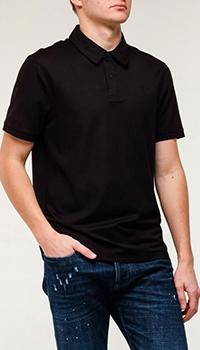 Мужское поло Bogner черного цвета, фото