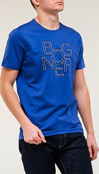 Футболка Bogner синего цвета, фото