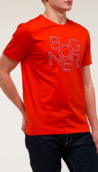 Мужская футболка Bogner с надписью, фото
