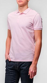 Поло Emporio Armani розового цвета, фото