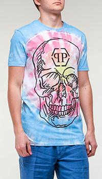 Мужская футболка Philipp Plein с черепом, фото