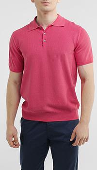 Футболка-поло Della Ciana розового цвета, фото