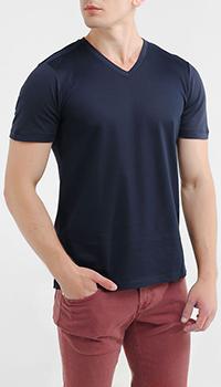 Мужская футболка Falke Fashion синего цвета, фото