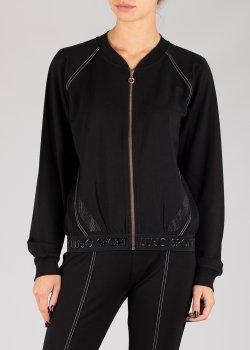 Спортивная кофта Liu Jo черного цвета, фото