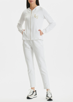 Спортивный костюм Liu Jo с золотистым лого, фото