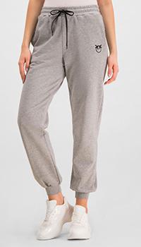 Спортивные брюки Pinko серого цвета, фото