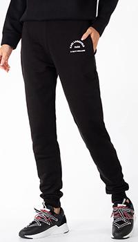 Черные спортивные брюки Karl Lagerfeld с логотипом, фото