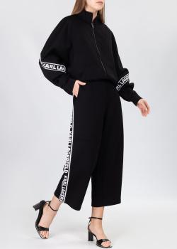 Черный костюм Karl Lagerfeld с лого, фото