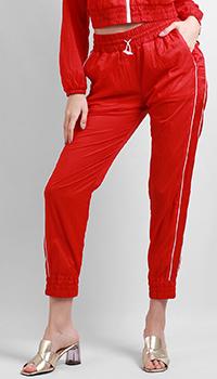 Спортивные брюки Patrizia Pepe в красном цвете, фото