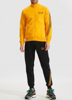 Спортивный костюм EA7 Emporio Armani из хлопка, фото