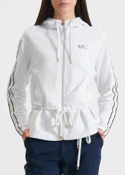 Спортивная кофта EA7 Emporio Armani с капюшоном, фото