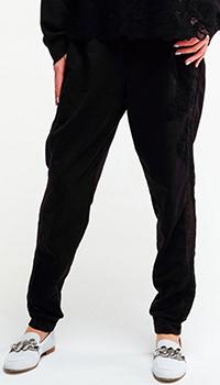 Спортивные брюки Ermanno Scervino черного цвета, фото